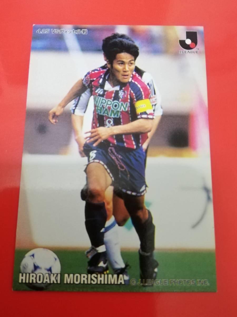 カルビー サッカー Jリーグカード セレッソ大阪 森島寛晃 1998(137) 送料63円_画像1