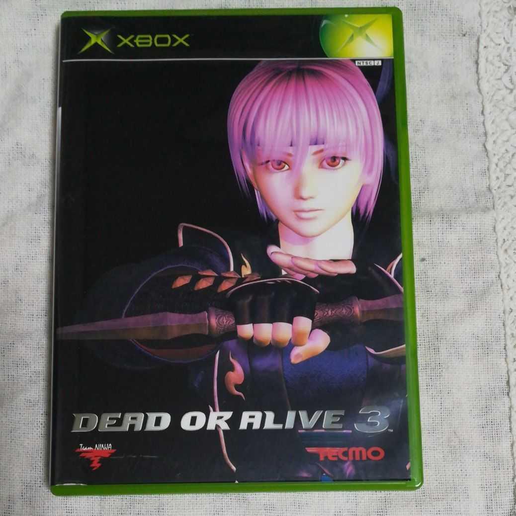 送料無料 XBOX エックスボックス DEAD OR ALIVE3