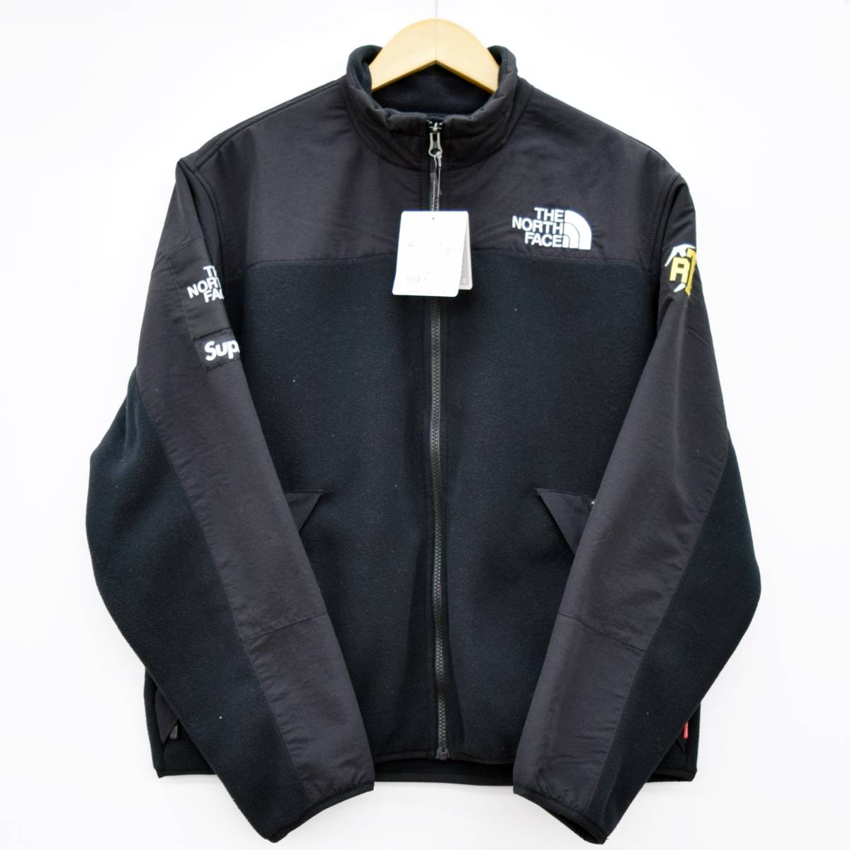 タグ付き未使用品 20SS Supreme THE NORTH FACE RTG Fleece Jacket シュプリーム ノースフェイス フリース ジャケット ブラック_画像1