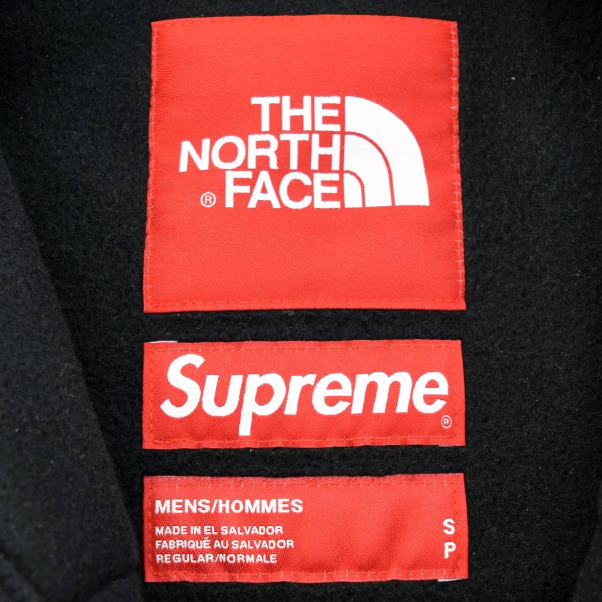タグ付き未使用品 20SS Supreme THE NORTH FACE RTG Fleece Jacket シュプリーム ノースフェイス フリース ジャケット ブラック_画像6