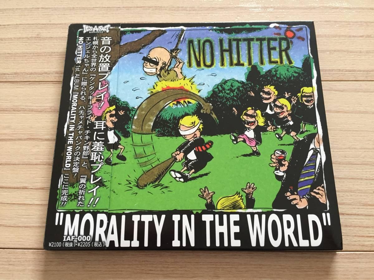 【国内盤/CD/Digipack仕様/It's A Fact Records/IAF-000/2004年盤/with Obi】 No Hitter / Morality In The World // Punk, Hardcore //_画像1