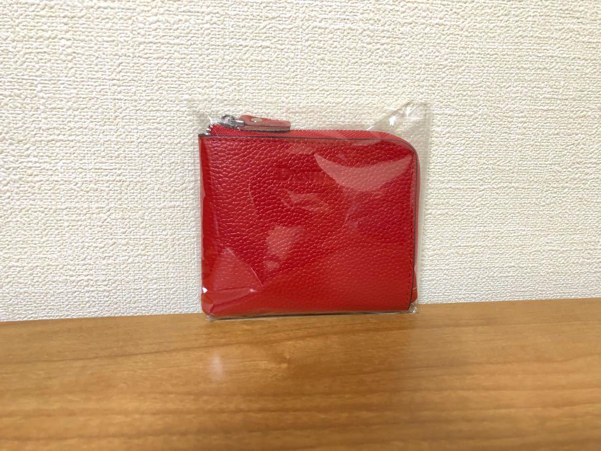 ミニ財布 コインケース 小銭入れ 【レッド】