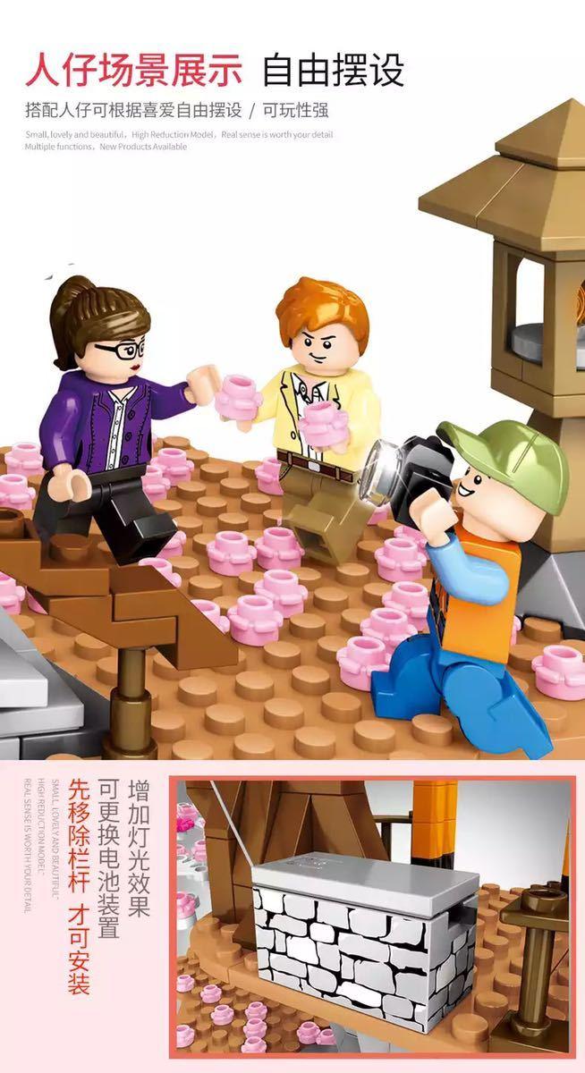 LEGO互換 神社② クールジャパン_画像3