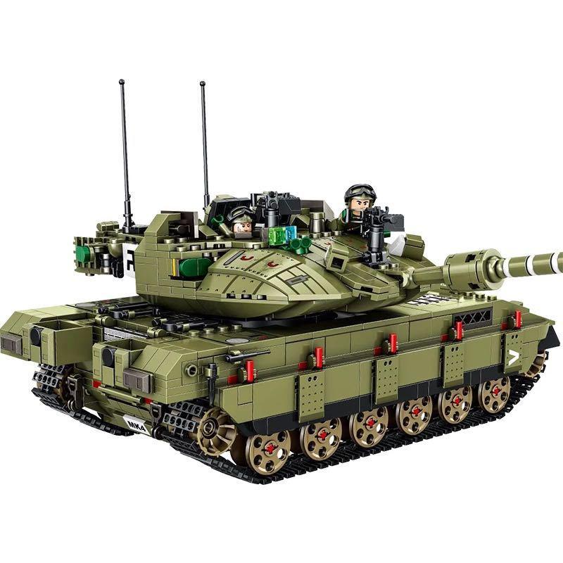 LEGO互換 メルカバ 緑_画像3