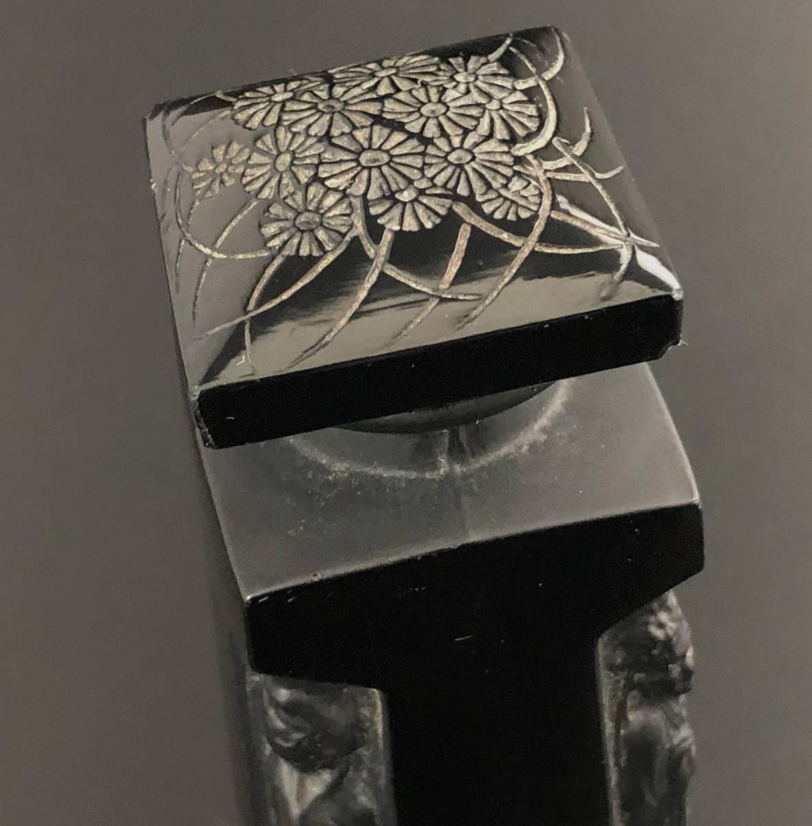 【値下げ可】/ルネ・ラリック/AMBRE D'ORSAY/黒/アンブル・ドルセー/高さ13cm/香水瓶/Lalique/フランス有名ブランド/ガラス工芸/送料無料_画像5