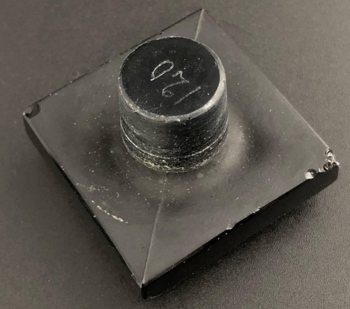 【値下げ可】/ルネ・ラリック/AMBRE D'ORSAY/黒/アンブル・ドルセー/高さ13cm/香水瓶/Lalique/フランス有名ブランド/ガラス工芸/送料無料_画像6