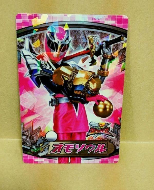 リュウソウピンク アスナ 騎士竜戦隊リュウソウジャー トップ製菓 プラスチックカードガム カード 即決 3_画像1