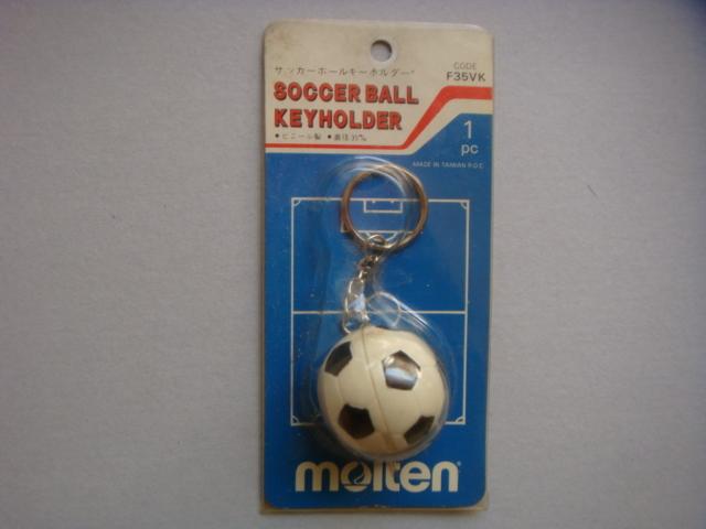 モルテン molten サッカーボール キーホルダー 90年代_画像1