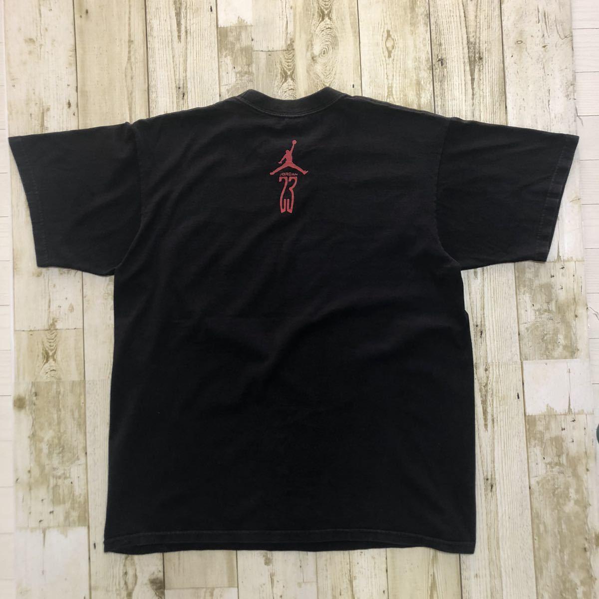 NIKE ナイキ AIRJORDAN エアジョーダン ジャンプマン ビッグロゴ ビッグプリント メンズ Tシャツ 半袖Tシャツ カットソー Tee 古着 M