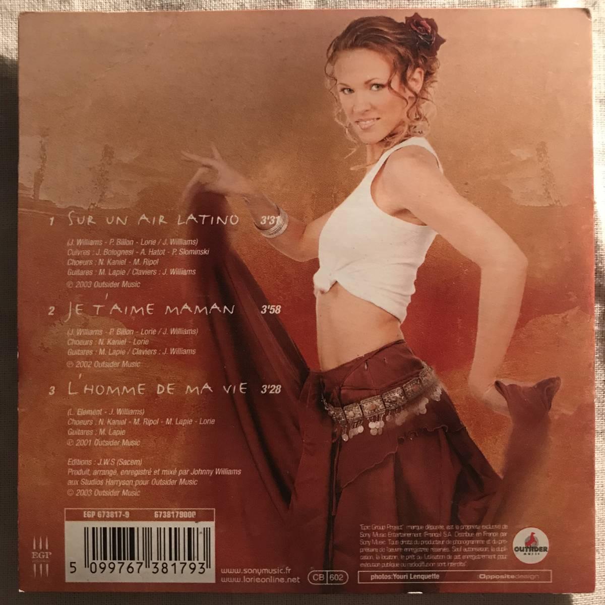 【CD Single】Lorie/Sur Un Air Latino France盤