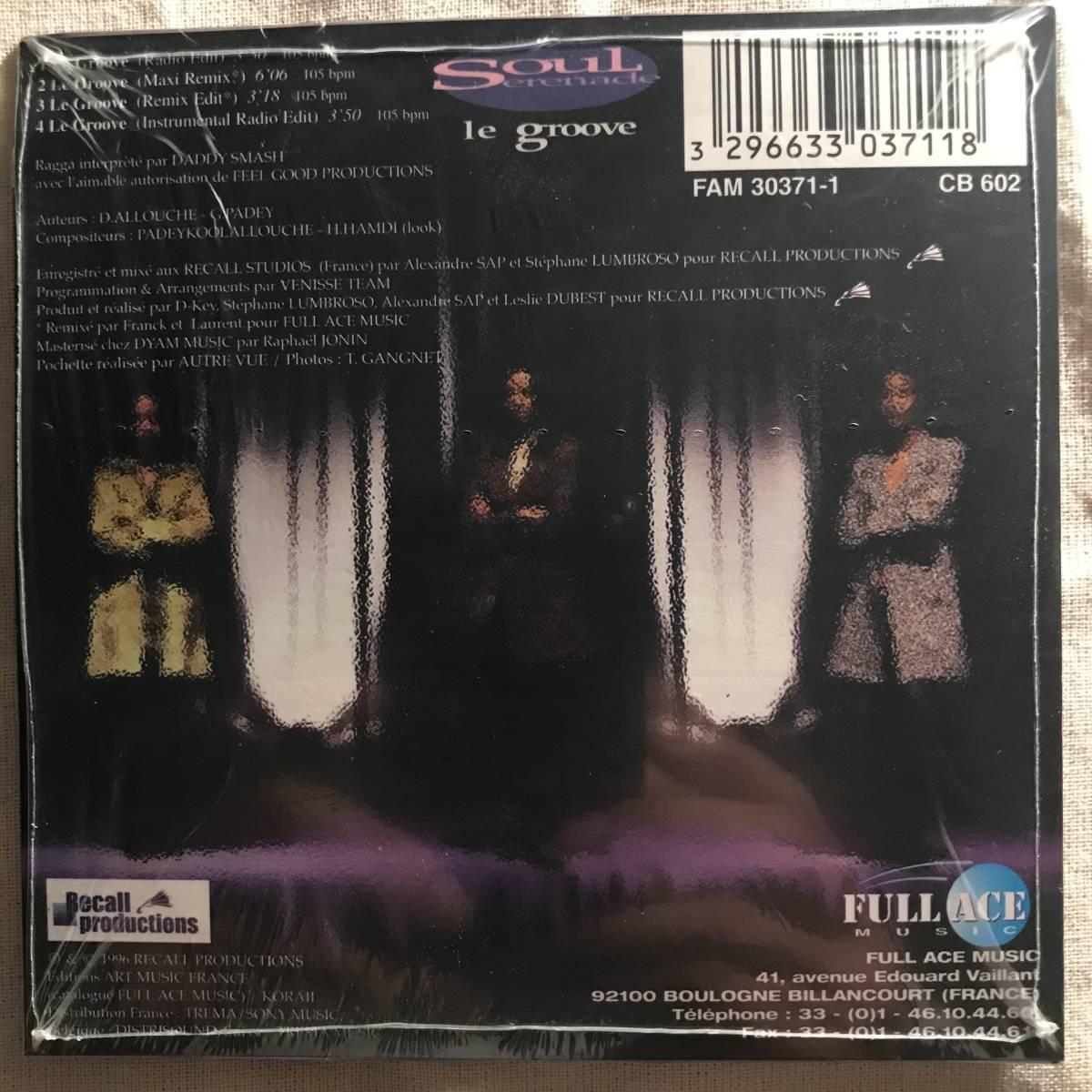 【CD Single】Soul Serenade/Le Groove France盤