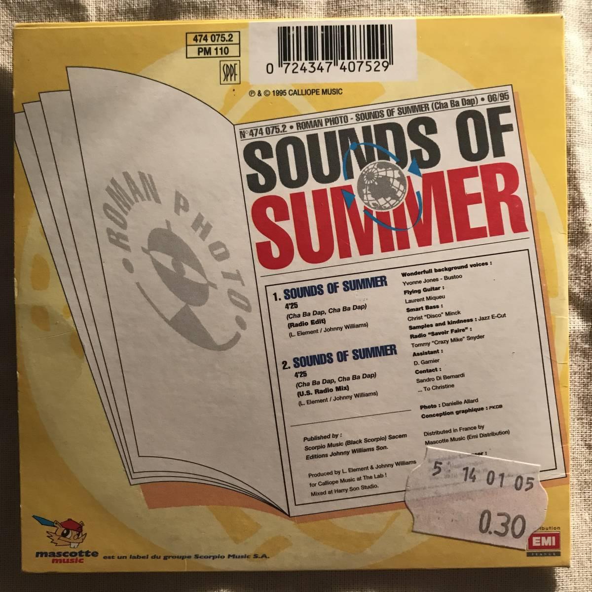 【CD Single】Roman Photo/Sound Of Summer