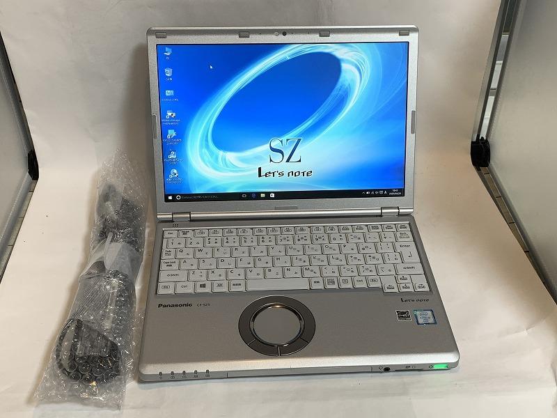 #良品 Panasonic Let's Note CF-SZ5ADYMS Core i5-6300U/Win10 Pro/Win7 Pro/8GB/SSD 512