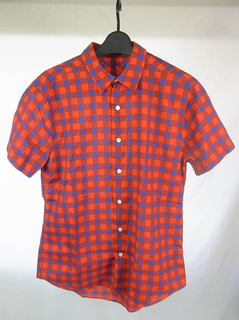 ■■ルイヴィトン★マサイチェックシャツM 国内正規品■■_画像1