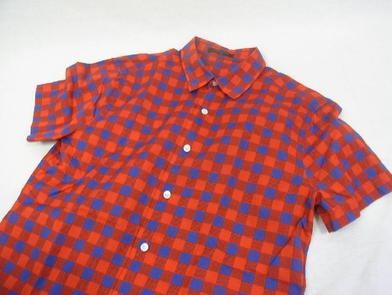 ■■ルイヴィトン★マサイチェックシャツM 国内正規品■■_画像3