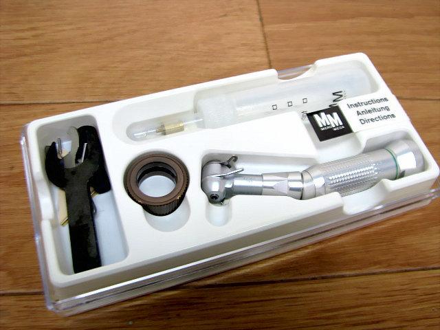 未使用?極美品 MICRO-MEGA INSTRUMENT ハンドピース Model:20/IMKB 歯科技工_画像4