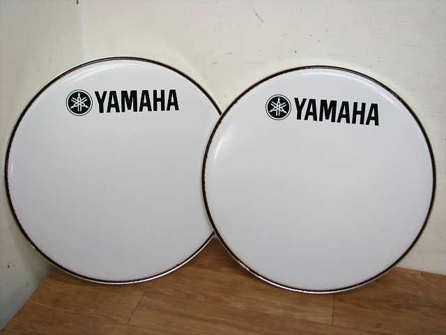 ・⑦未使用 ヤマハ DH16B-250SW 4個 まとめて 16インチ YAMAHA ヤマハ マーチング バスドラムヘッド_画像2