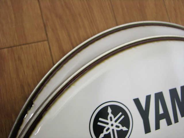 ・⑦未使用 ヤマハ DH16B-250SW 4個 まとめて 16インチ YAMAHA ヤマハ マーチング バスドラムヘッド_画像5