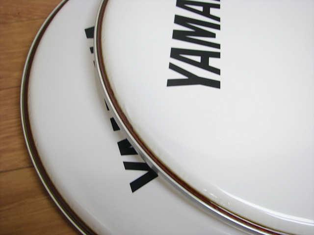 ・⑦未使用 ヤマハ DH16B-250SW 4個 まとめて 16インチ YAMAHA ヤマハ マーチング バスドラムヘッド_画像9