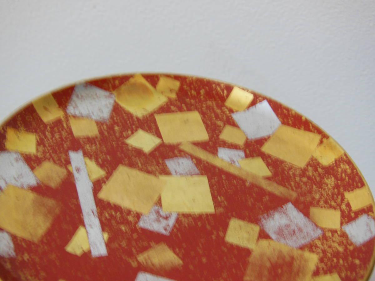 ●《 明治~大正期 金銀箔散 菓子皿 》 菓子器 茶道具 茶席道具 煎茶道具 骨董 古美術 古道具 古民家 古民芸_画像10