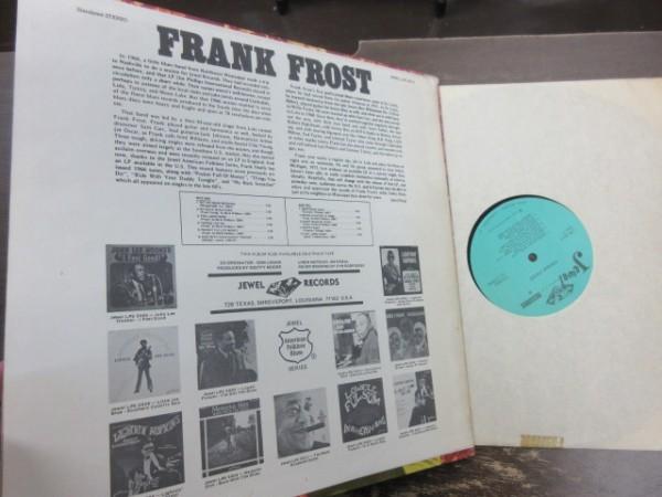 RKK9///LP★★FRANK FROST (フランク・フロスト) JEWEL U.S.盤|ハーモニカ_画像2