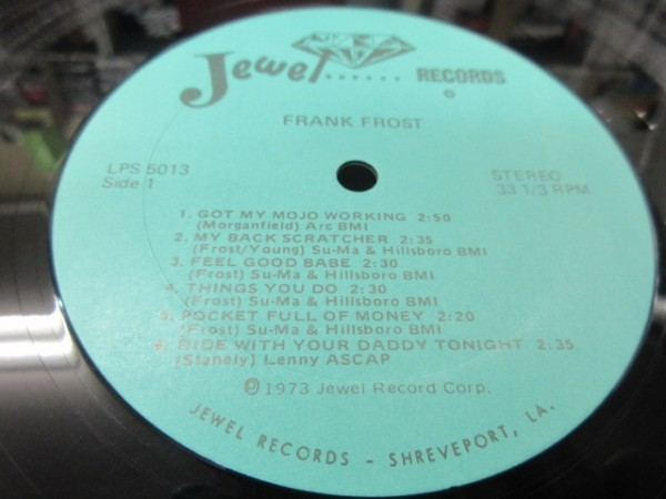 RKK9///LP★★FRANK FROST (フランク・フロスト) JEWEL U.S.盤|ハーモニカ_画像3