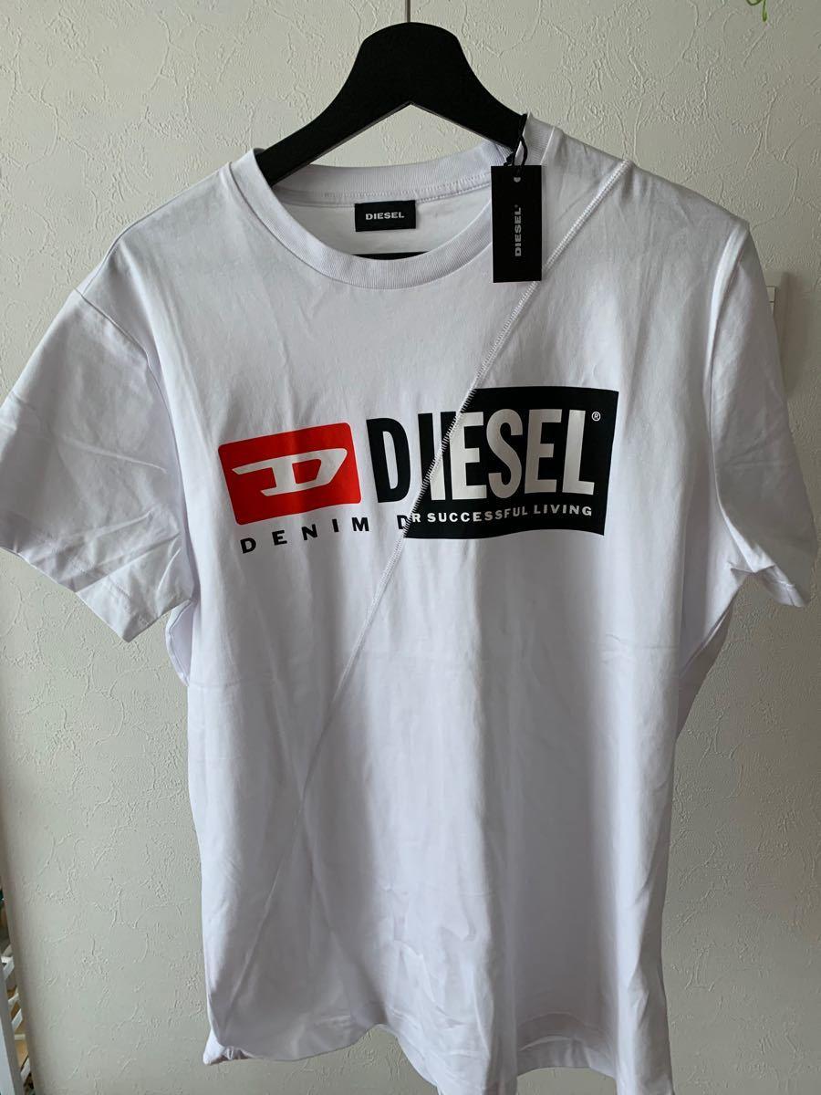 DIESEL ディーゼル Tシャツ メンズ ホワイト 新品未使用