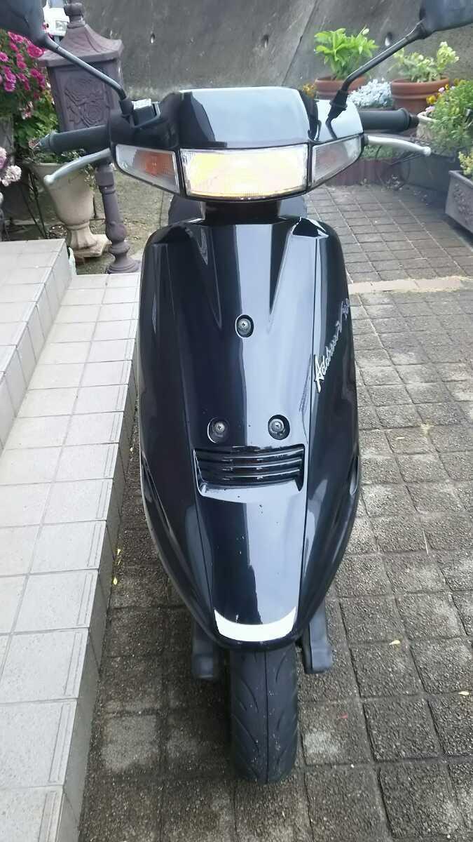 「岡山発 絶版 2スト スズキ アドレス V100 CE11A 登録使用中不具合無し 名変後直ぐ乗れます 絶好調 通勤快速 通学 スクーター」の画像3