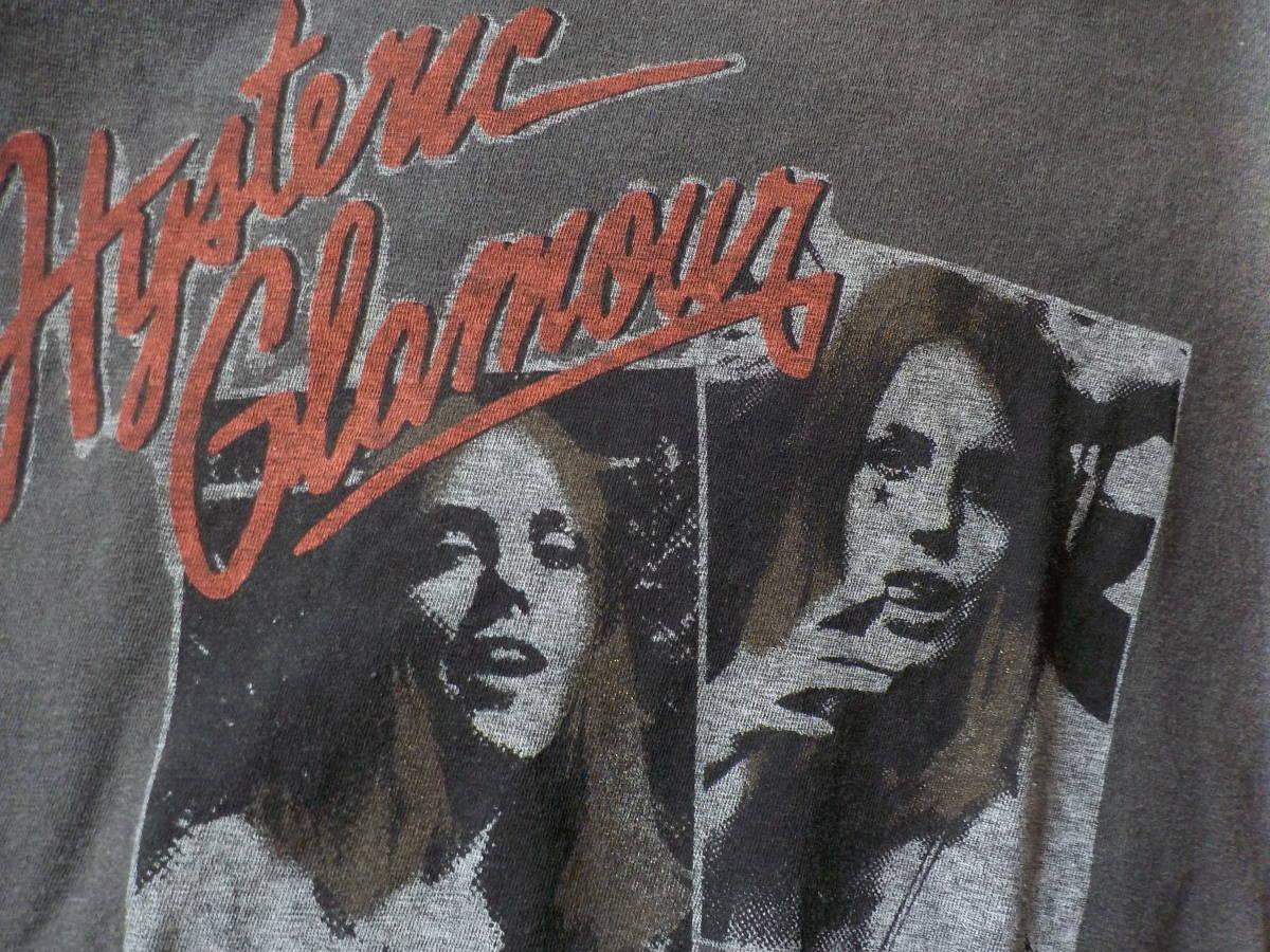 ジョーイヒスグラ★hoochieヒスガールズの半袖Tシャツ(ヤング・グレー杢)_画像2