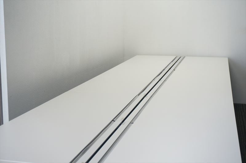 【大量在庫】【160席分】【中古】イトーキ インステートリンク フリーアドレスデスク 6414 W1600天板×8枚 8席分 H720 ホワイト_画像4