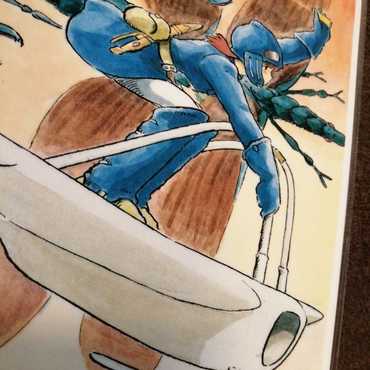 スタジオジブリ 風の谷のナウシカ ジブリカード ナウシカイラスト画 ラミネートカード パネル ポストカード ポスター 宮崎駿v_画像5