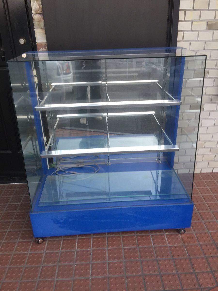 ガラスショーケース 店舗什器 業務用_画像1