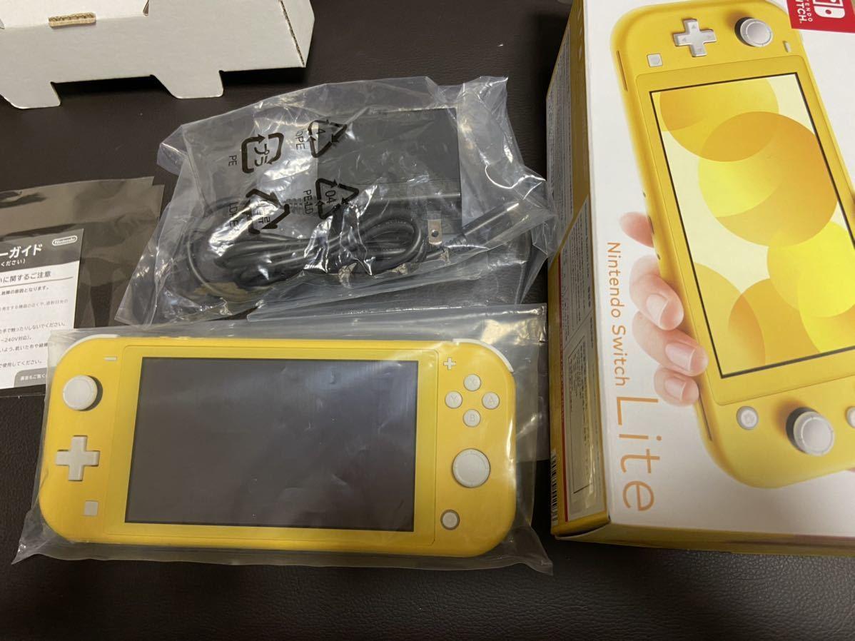 【送料無料・中古美品】 Nintendo Switch Lite 本体 ニンテンドースイッチ ライト イエロー_画像2