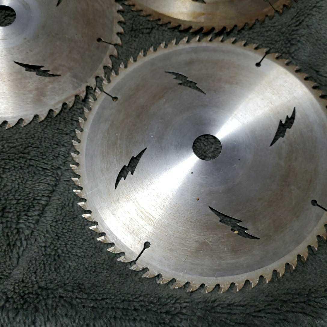 チップソー ドイツベストマックス 中古品長期保管(外径190 内径20 刃数64×2枚 52×1枚) 多少錆びあり 使用頻度少し 三枚セット_画像7
