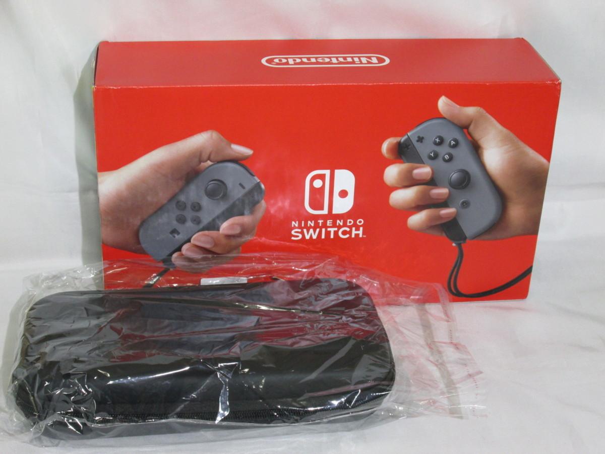 N67289R 未使用 Nintendo Switch ニンテンドー スイッチ 本体 HAD-S-KAAAA(USZ) グレー 海外版 バッテリー持続時間が長くなった新モデル_画像1