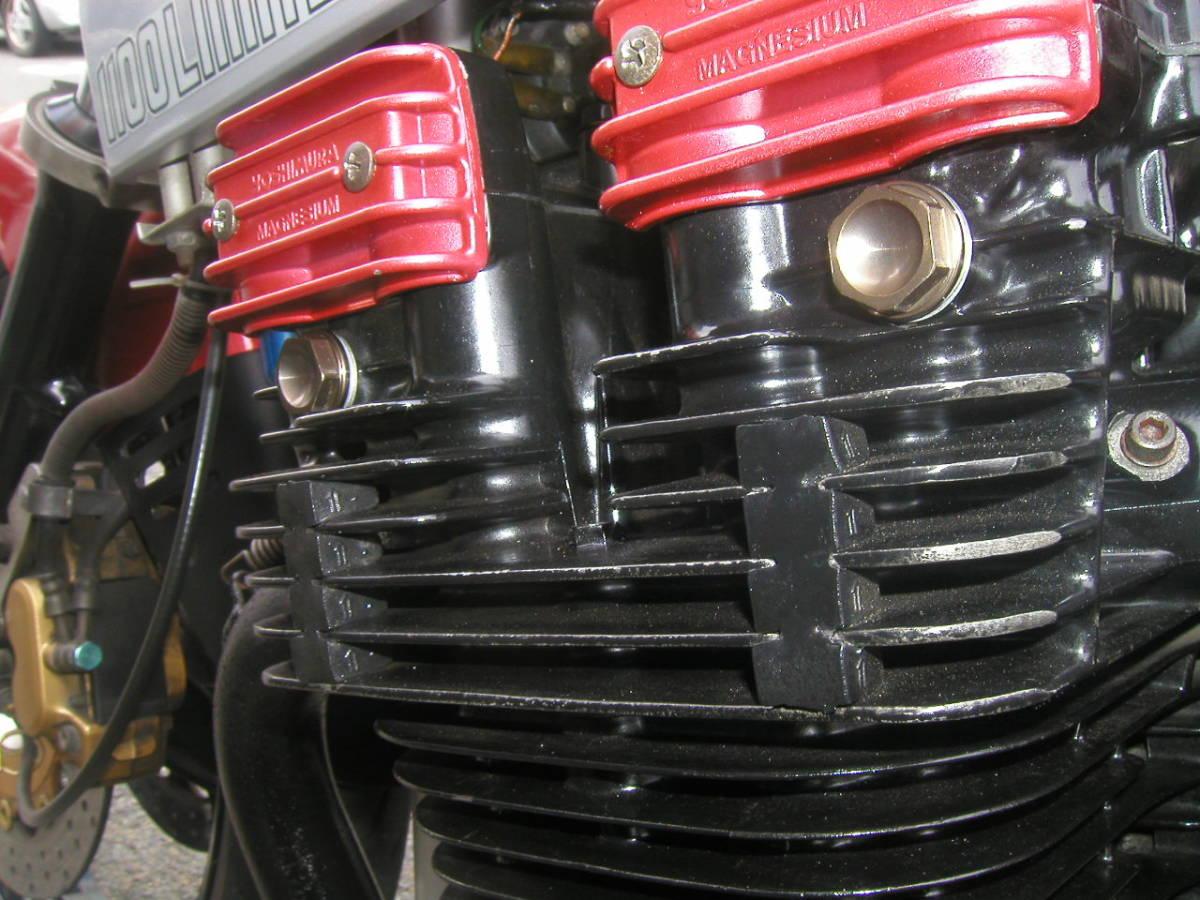 耐熱塗料 AREA  トップヒート  赤 CBX CBR  GP GS ホーク _画像5