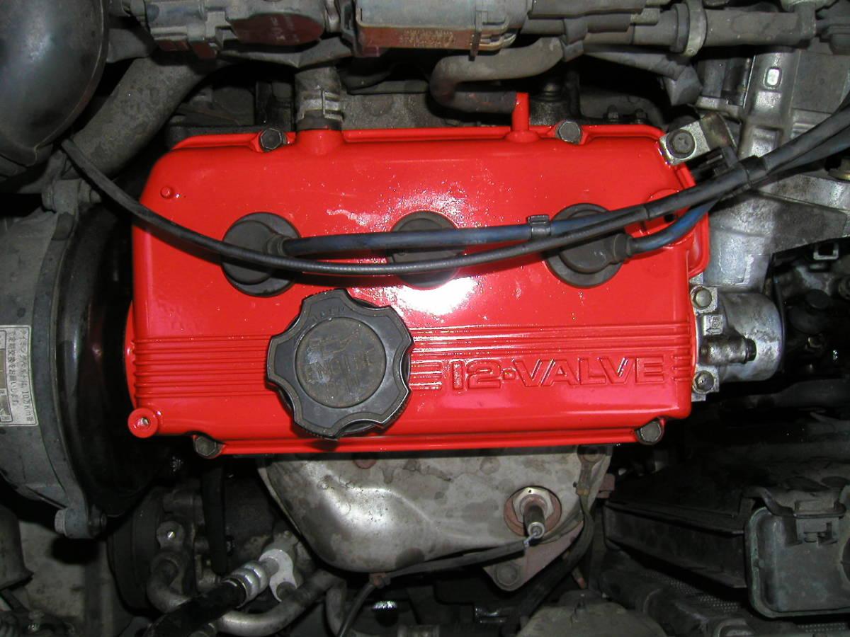 耐熱塗料 AREA  トップヒート  赤 CBX CBR  GP GS ホーク _画像7