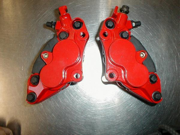 耐熱塗料 AREA  トップヒート  赤 CBX CBR  GP GS ホーク _画像6