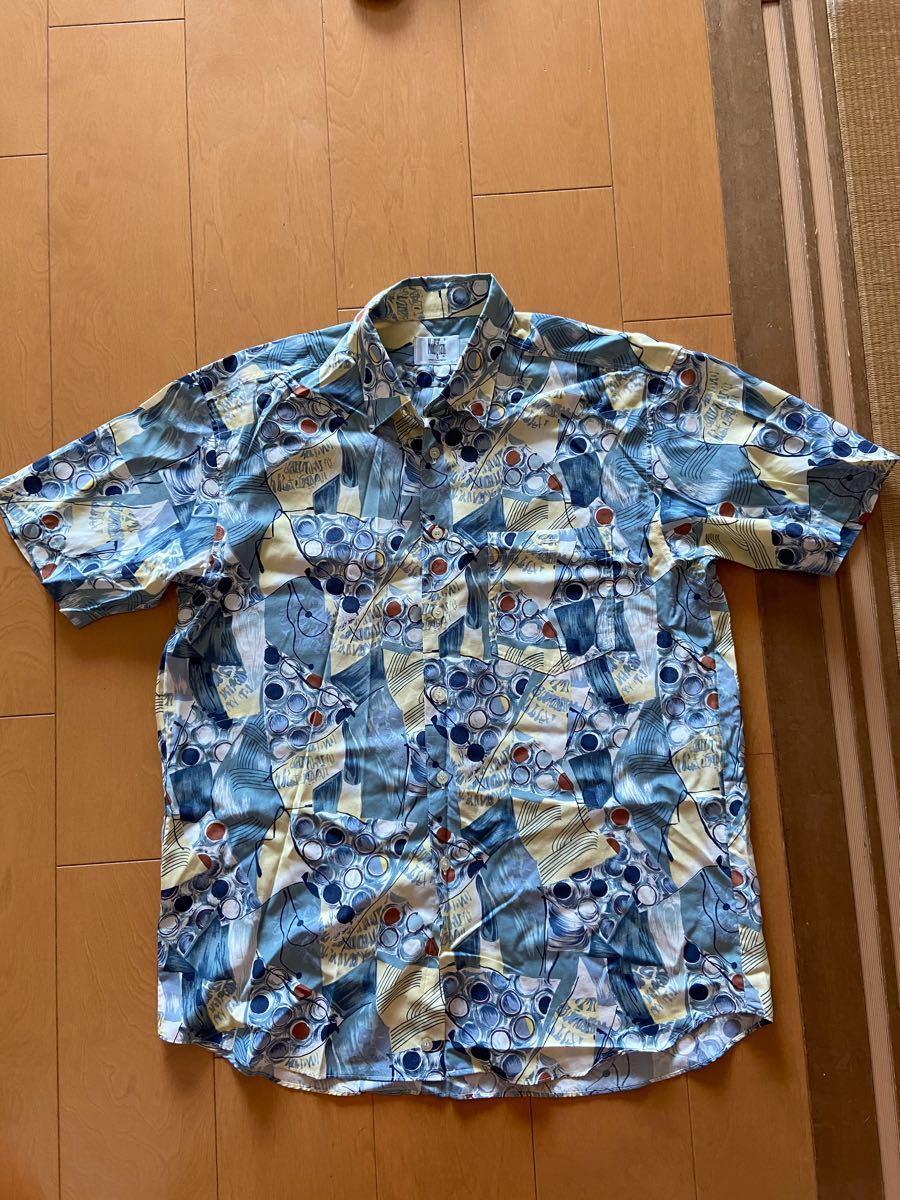 半袖シャツ  アロハシャツ  柄