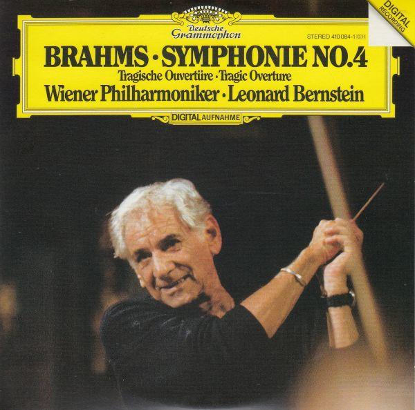 [CD/Dg]ブラームス:交響曲第4番ホ短調Op.98他/L.バーンスタイン&ウィーン・フィルハーモニー管弦楽団 1981.10_画像1