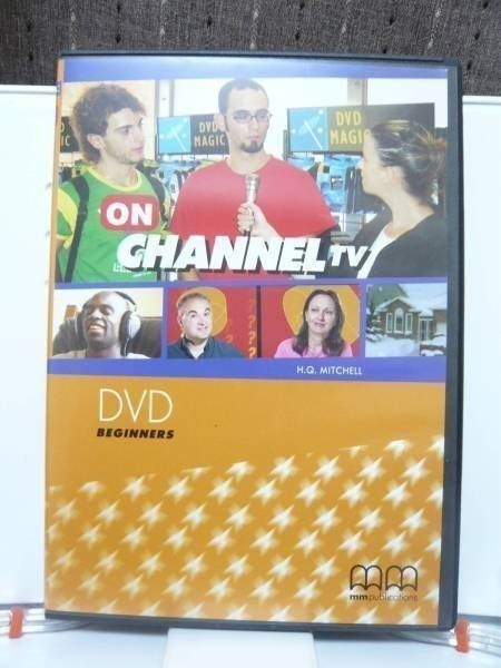 DVD「ON CHANNEL TV BEGINNERS」 ase7-m 【タグ:教材、英語、ase7-a】_画像1