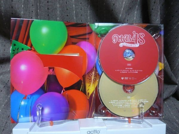 DVD+CD「AKB48 ここにいたこと」 ase7-m 【タグ:音楽、邦楽】_画像5
