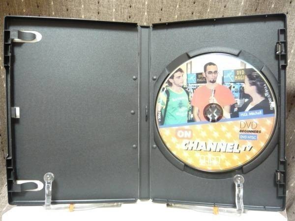 DVD「ON CHANNEL TV BEGINNERS」 ase7-m 【タグ:教材、英語、ase7-a】_画像3
