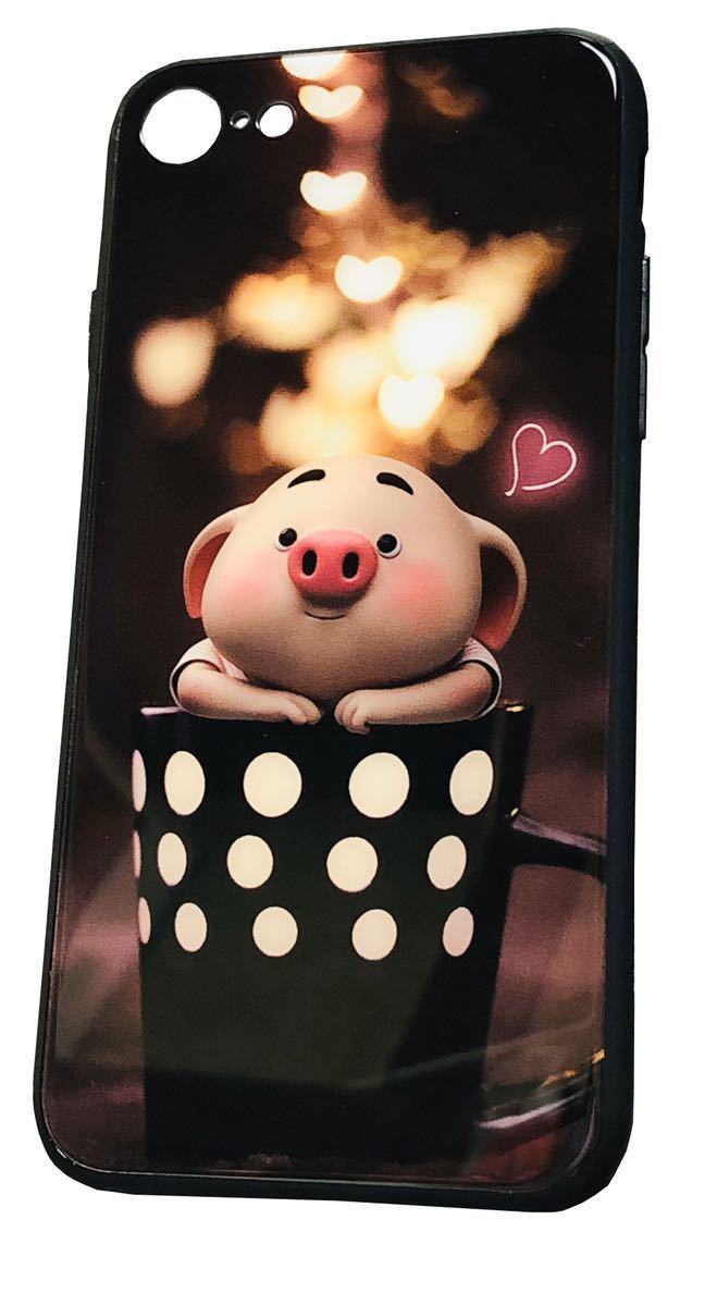 「Loved piglet in a cup」iPhone 7 / 8 /SE用_画像4