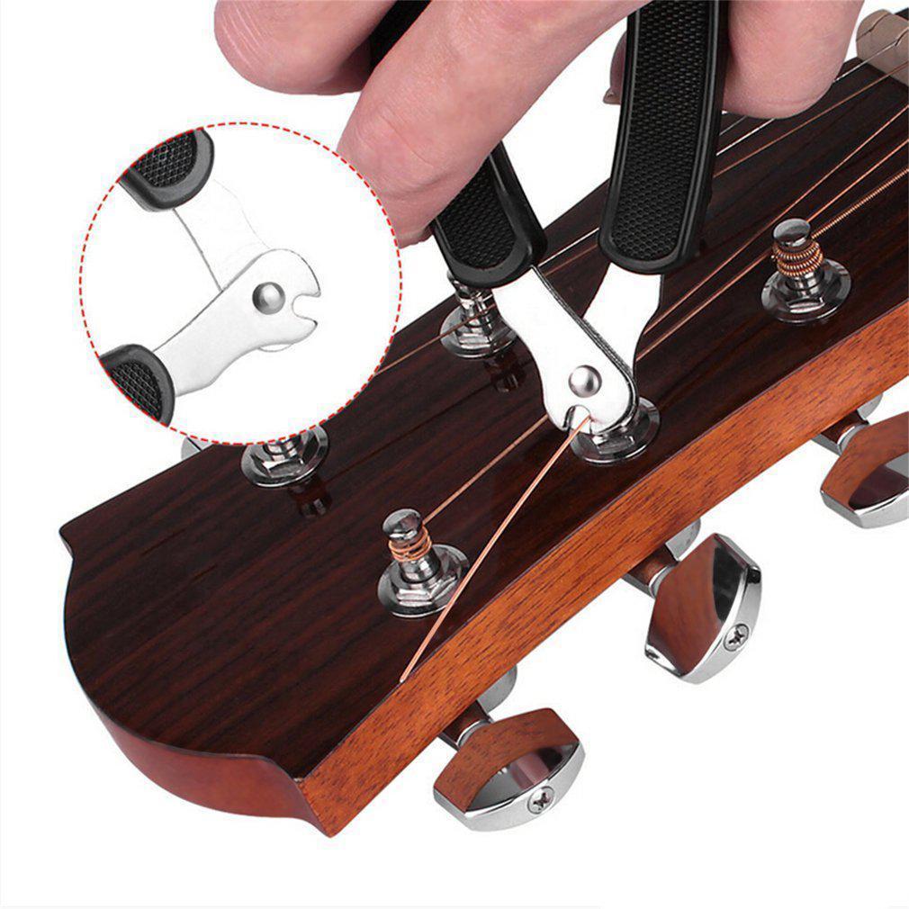 3 1 でギターツールアクセサリー弦楽器ギターピンプラー巻文字列クランプリムーバーカッターギターワインダー_画像3