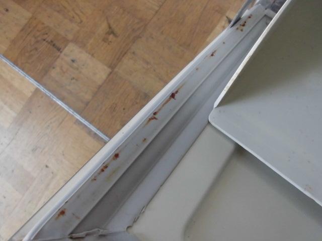 中古厨房 フクシマ 製氷機 バーチカルタイプ FIC-55KV1 2012年製 キューブアイス W630×D500×H850mm 製氷能力:約55/62Kg/日_画像10