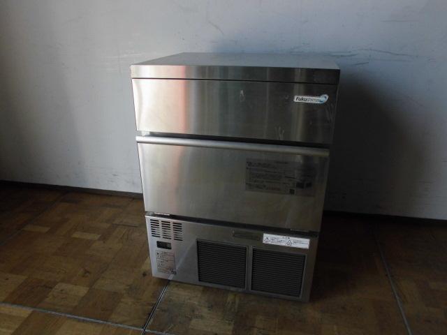中古厨房 フクシマ 製氷機 バーチカルタイプ FIC-55KV1 2012年製 キューブアイス W630×D500×H850mm 製氷能力:約55/62Kg/日_画像1