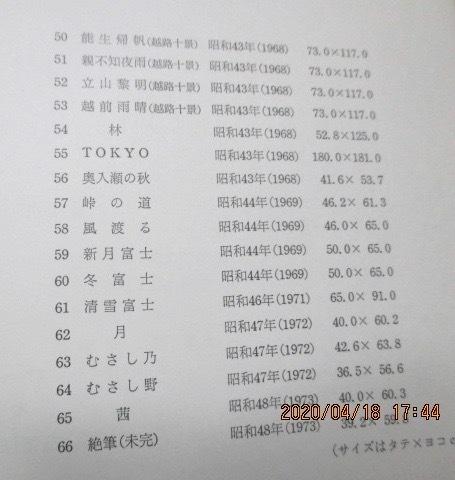 図録  『横山 操 遺作展』  1977年  送料152円_画像5