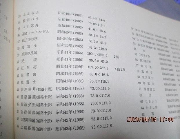 図録  『横山 操 遺作展』  1977年  送料152円_画像4