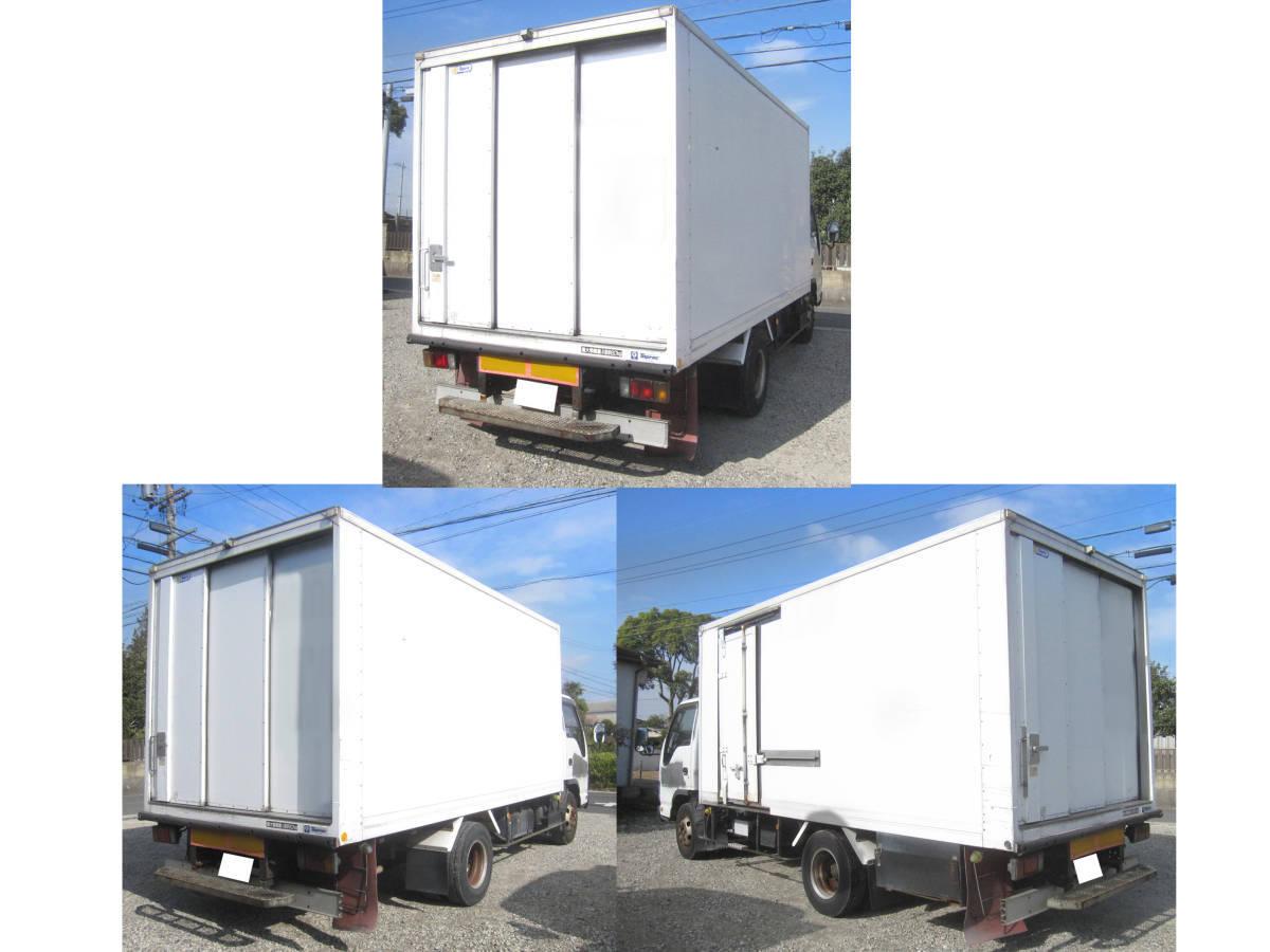 「結構大きいです 早いもの勝ち エルフトラック 冷蔵車ワイドロング? ディーゼル(軽油) NOXPM適合車  です。」の画像2